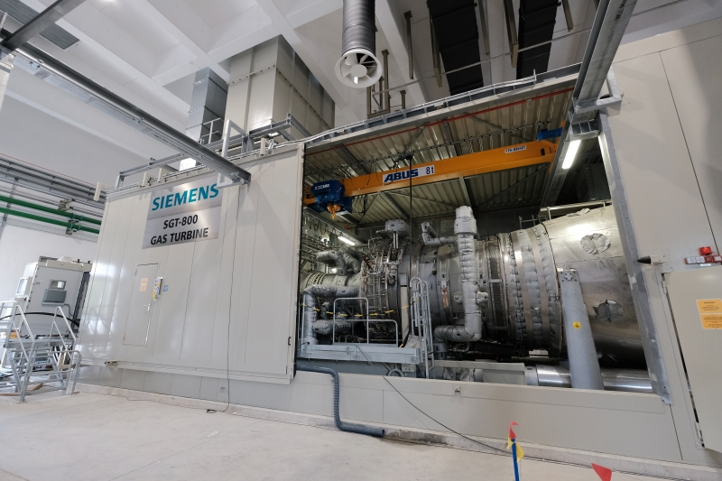 Gas turbine unit PB 6 | Termoelektrarna Brestanica